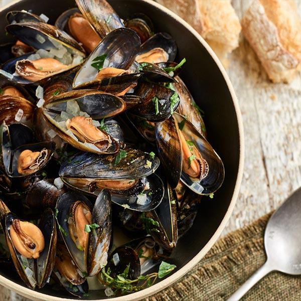 Savourez les délicieuses moules du restaurant La Casa