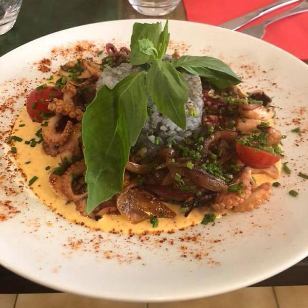 Le menu spécial du restaurant La Casa